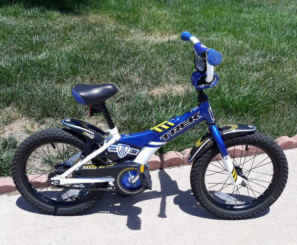 """16"""" Boys Trek bike Jet Series sixteen like new"""