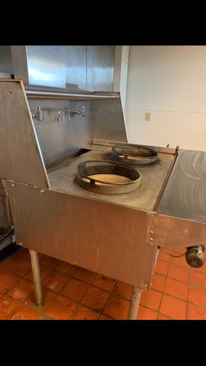 COMMERCIAL 2 CHAMBER WOK for Sale in Stone Mountain, GA