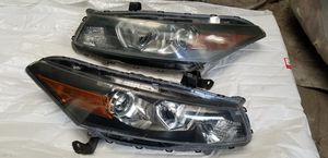 2008 - 2012 Honda Accord coupe headligths Rh,Lh Oem & Front bumper for Sale in Los Angeles, CA