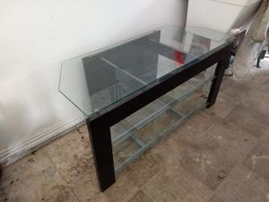 Glass TV stand for Sale in Pilot Point, TX
