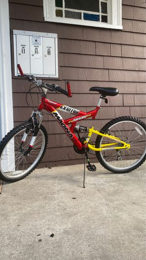 Magna excitor bike full suspension condition good like new price fair for Sale in Everett, MA