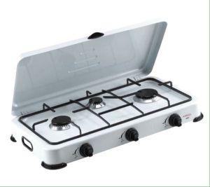 Premium Portable 3 Burners Propane Gas Stove Camping Patio Cocina de Gas Propano Portátil Campamentos Terrazas PPS31 for Sale in Hialeah, FL