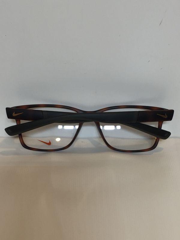0743e92175752 Nike 7091 INT 200 satin Tortoise plastic Eyeglasses 54mm for Sale in ...