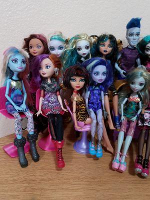 Monster high ever after dolls for Sale in Glendale, AZ