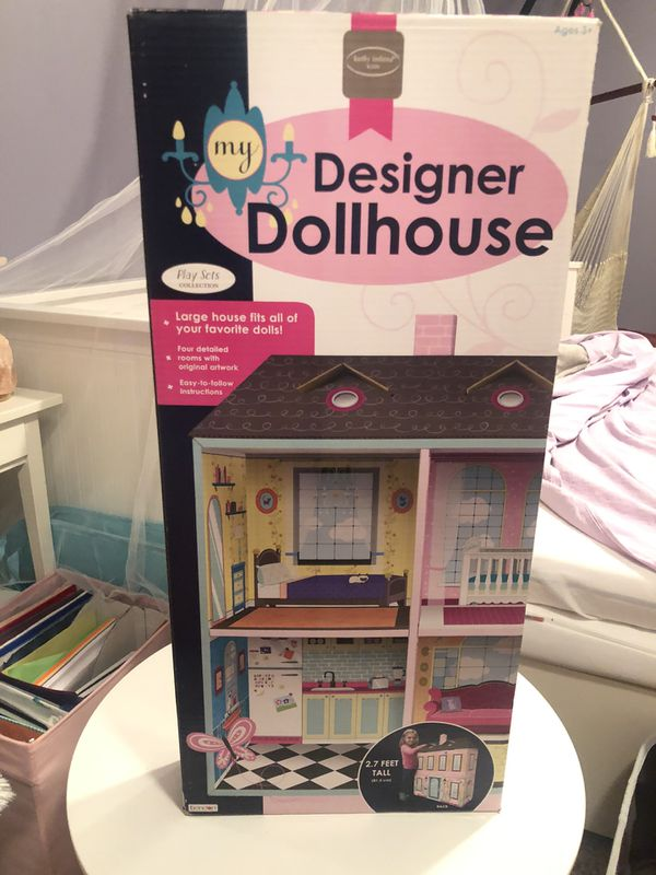 NEW in box designer dollhouse