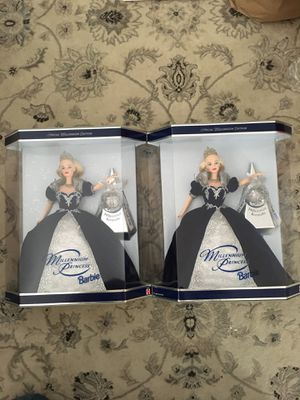 Millennium Barbie Doll lot of 2 Pickup in Beverly for Sale in Beverly, MA
