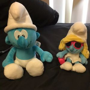 Smurf plush lot for Sale in Davenport, IA