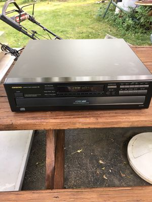 Onkyo 6 disk CD Player Model DX -C320 for Sale in Rolling Meadows, IL