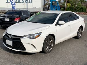 2016 Toyota Camry SE, Titulo Limpio, Clean title, 2.5L V4 16 Valve 178HP, Miles 62k, backup camera ⚠️ FINANCE AVAILABLE ⚠️ for Sale in Long Beach, CA