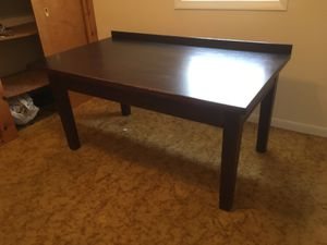 Cherry desk with hinged top for Sale in Mancelona, MI