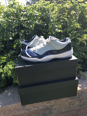 Jordan 11 retro lows Georgetown's🔥🔥🔥 for Sale in Phoenix, AZ