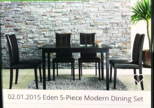 Modern dining table set for Sale in Ashburn, VA