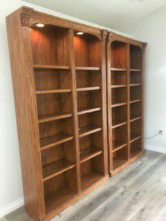 Bookshelf with lights for Sale in Vancouver, WA