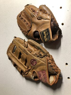 Ball gloves baseball for Sale in Imperial, MO
