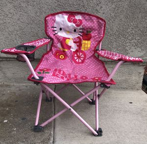 Like New • Licensed Hello Kitty Foldable Chair for Sale in Azusa, CA