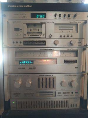 Marantz stereo 5 pc stack for Sale in Arlington, TX