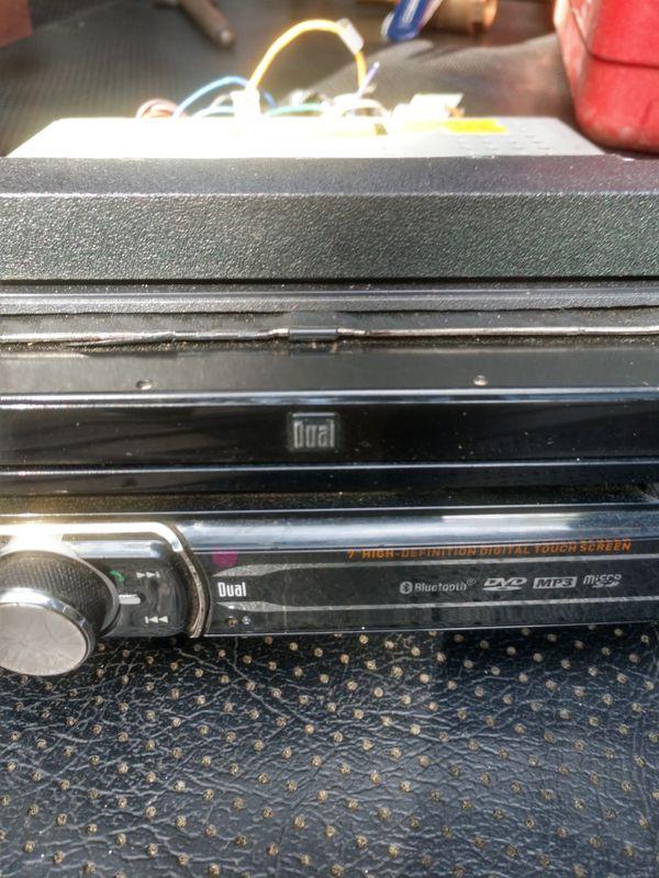Dual Bluetooth DVD car stereo
