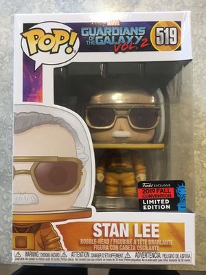 Stan Lee Walmart exclusive NYCC Funko POP for Sale in Spanaway, WA