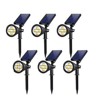 Solar spotlight warm white 6 pack for Sale in Rialto, CA