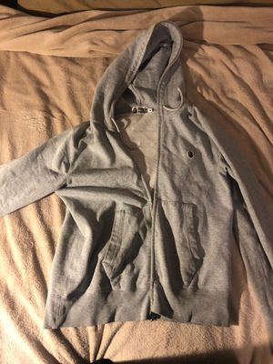 Grey Bape hoodie for Sale in Denver, CO