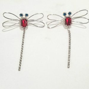 CZ diamond dragonfly earrings dangle for Sale in Austin, TX