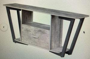 Andujar TV Stand - Gray for Sale in New York, NY