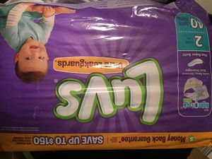 Luvs Pampers for Sale in Baltimore, MD