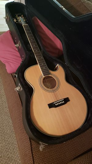 Epiphone PR-5E Acoustic Electric Guitar w /case for Sale in Columbia, MO