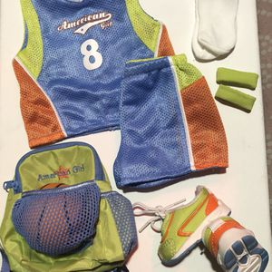 American Girl Doll Clothes (Basketball Outfit) for Sale in Simi Valley, CA