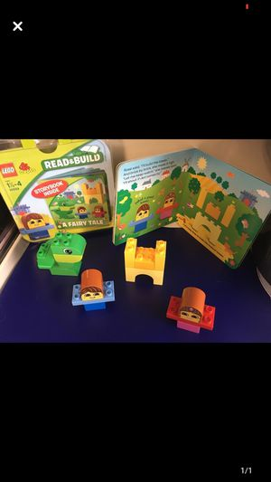 Read & Build LEGO Set 18 months-4 years Story Book+15 pieces Like New for Sale in Pottsville, PA