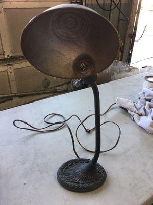 Antique Goose Neck Adjustable Metal Desk Lamp Art Deco Nuevo for Sale in Salem, OR