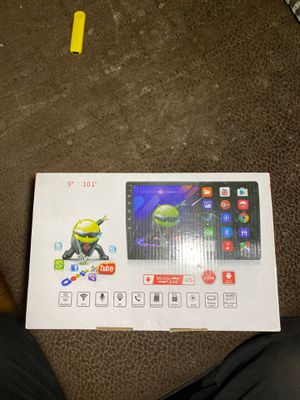 Android car navigation system /touch screen stereo car faceplate for Sale in Brooklyn, NY