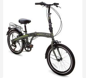 Adventurer 6 speed folding bike for Sale in Simpsonville, SC