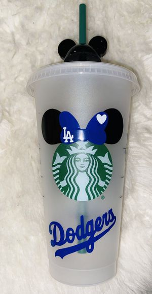 Dodgers / Disney Minnie Mouse custom Starbucks cold cup for Sale in Baldwin Park, CA