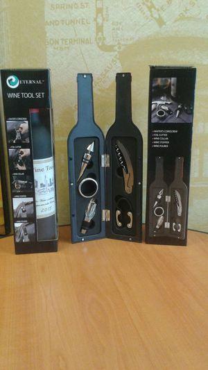 Wine Bottle Wine Tool Set for Sale in Whittier, CA