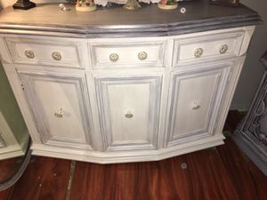 Shabby chic credenza / tv stand / buffet underneath storage for Sale in Clearwater, FL