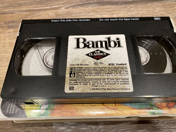 Walt Disney The Classics Bambi (VHS)