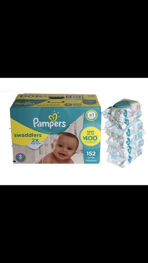Pampers Swaddlers Size 3 for Sale in Miami Gardens, FL