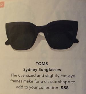 TOMS SYDNEY SUNGLASSES for Sale in La Puente, CA