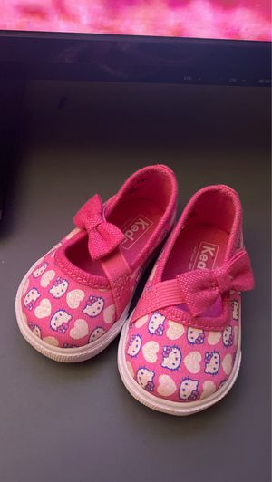 Hello Kitty x KEDS baby girl shoes / sandals for Sale in Los Angeles, CA