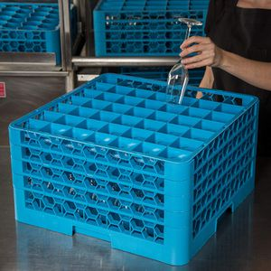 OptiClean 49 Compartment Glass Rack for Sale in Las Vegas, NV