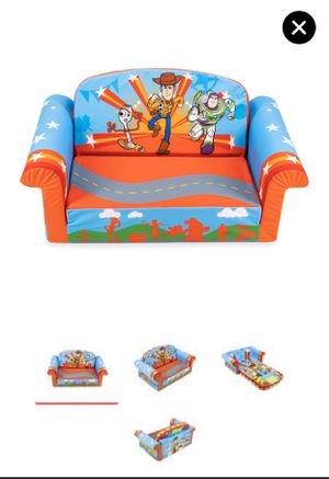2-in-1 Flip Open Couch Bed for Toddler , Toy Story for Sale in Winston-Salem, NC