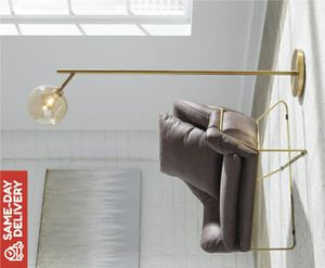 Abanson Amber/Gold Finish Metal Floor Lamp for Sale in Houston, TX