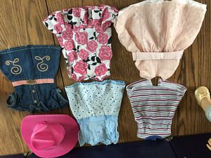 American Girl Doll Dresses and Hats for Sale in Independence, OH