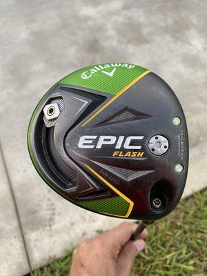 Callaway Epic Flash 9* X-Stiff for Sale in Loxahatchee, FL