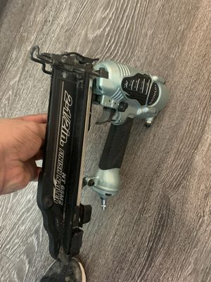 Hitachi 2 1/2 nail gun for Sale in Houston, TX