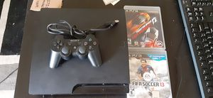 Ps3 w/cords, 1 controller 2 games. for Sale in San Diego, CA