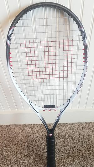 Tennis racket- Wilson titanium. for Sale in Sandy, UT