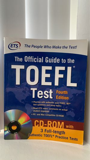 The official guide to the TOEFL test. 4th edition. for Sale in Chicago, IL