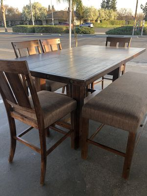 🇺🇸6pc Dining Table- Comedor d 6pc @Elegant Furniture🇺🇸 President Day Sale🇺🇸 for Sale in Fresno, CA